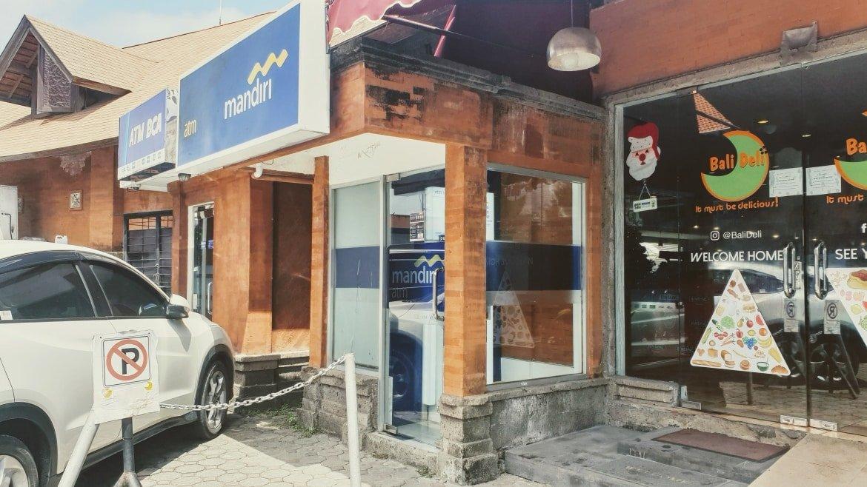 ATMs at Bali Deli in Seminyak - Bali Holiday Secrets