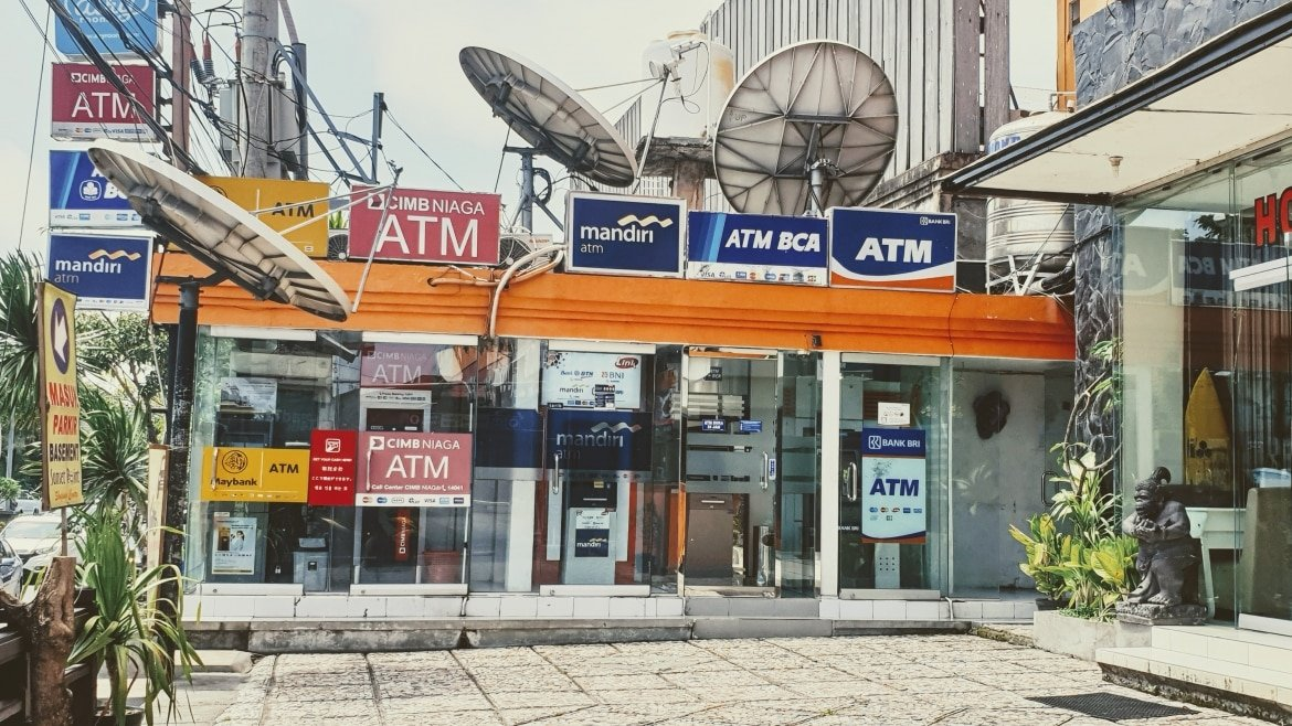 ATMs at Sunset Point, Seminyak - Bali Holiday Secrets