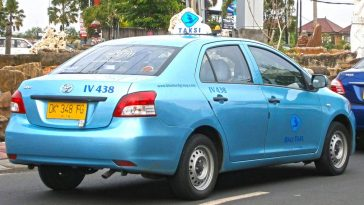 Bluebird Taxi - How to catch a taxi in Bali