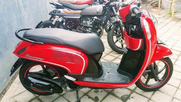 Honda Scoopy - Bali Holiday Secrets