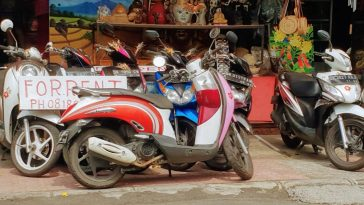 Renting a Scooter - Bali Holiday Secrets