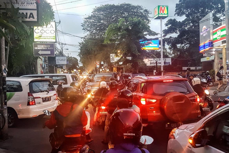 Traffic from Bali Airport to Seminyak - Bali Holiday Secrets