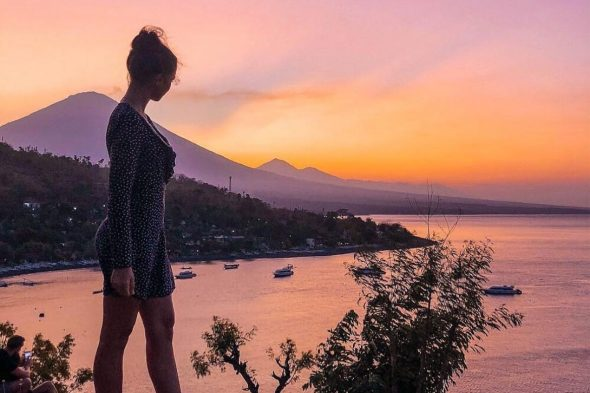 Amed Sunset - Best Tourist Attractions in Bali