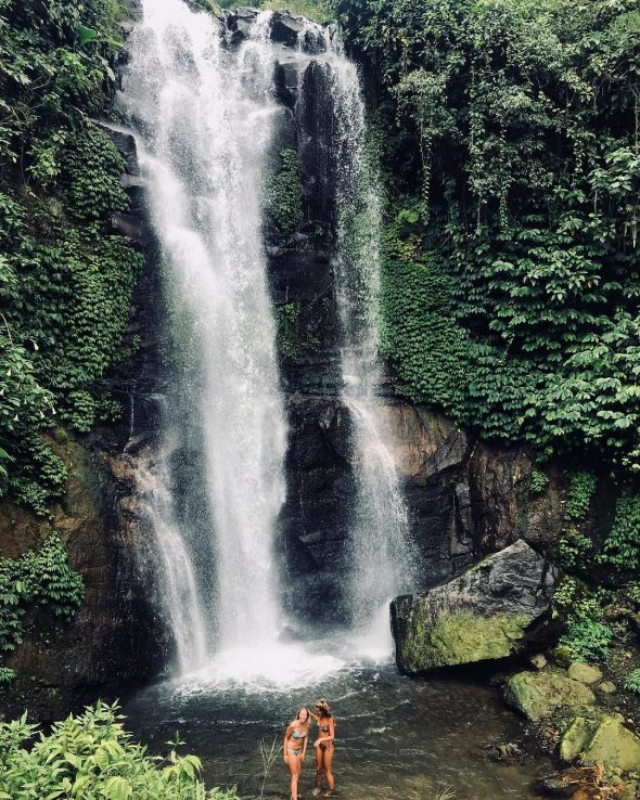 Golden Valley Waterfall - Bali Holiday Secrets