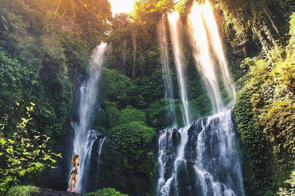 Sekumpuil Waterfall - Best Waterfalls in Bali