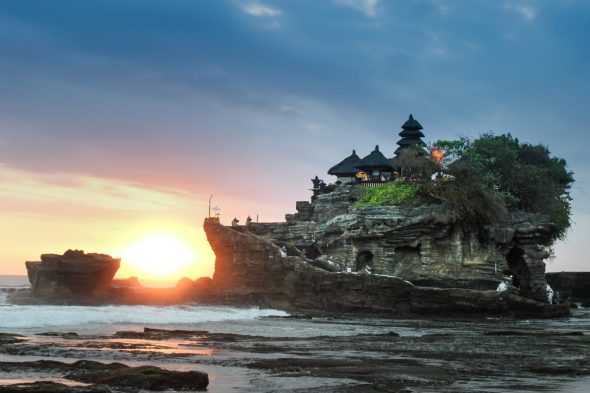 Tanah Lot at Sunset - Bali Holiday Secrets