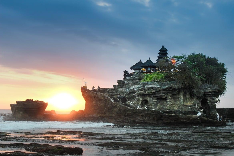 Tanah Lot at Sunset - Bali Holiday Secrets
