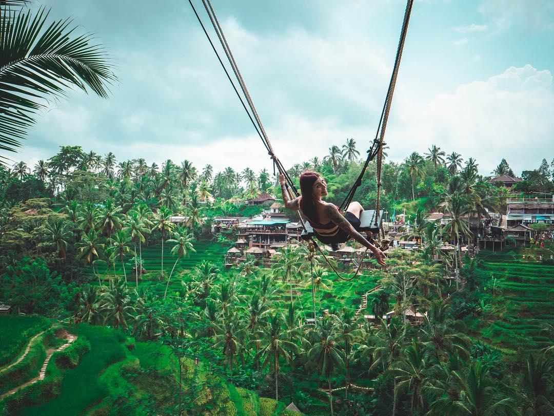 Tegalalang Swing - Bali Holiday Secrets