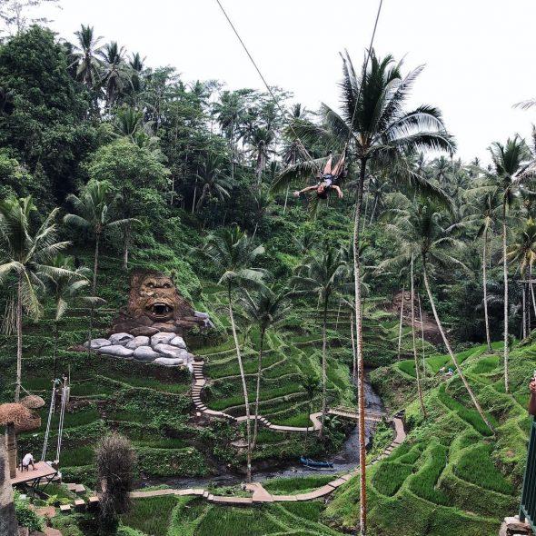 Terrace River Pool Swings - Bali Holiday Secrets
