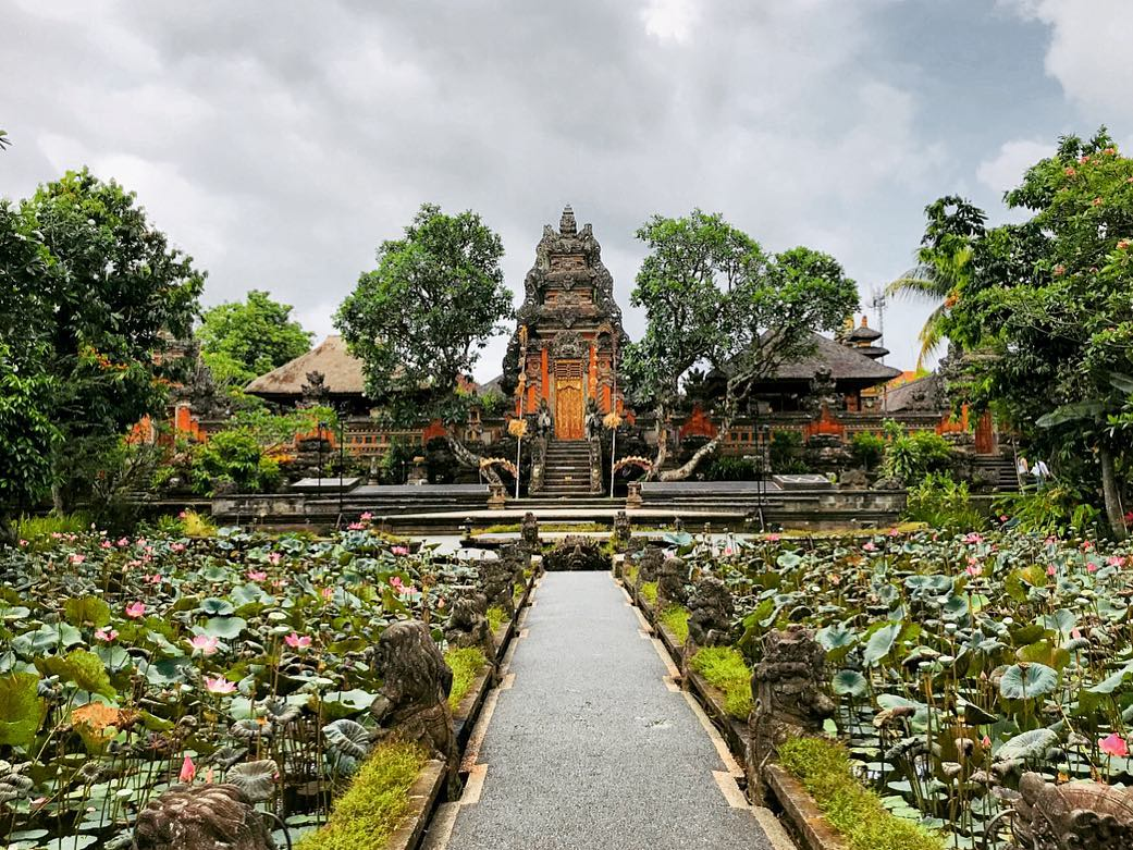 Taman Saraswati Temple, Ubud - Bali Holiday Secrets