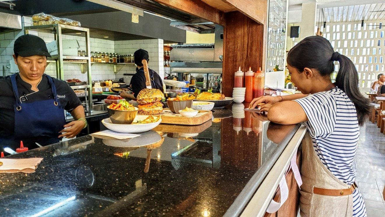 Watercress cafe, Batu Belig - Bali Holiday Secrets