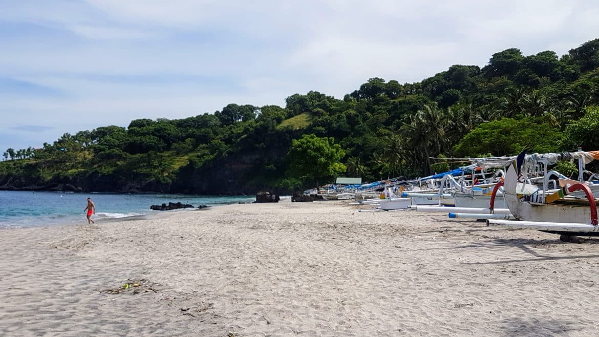 Virgin Beach - Fishing Fleet - Bali Holiday Secrets