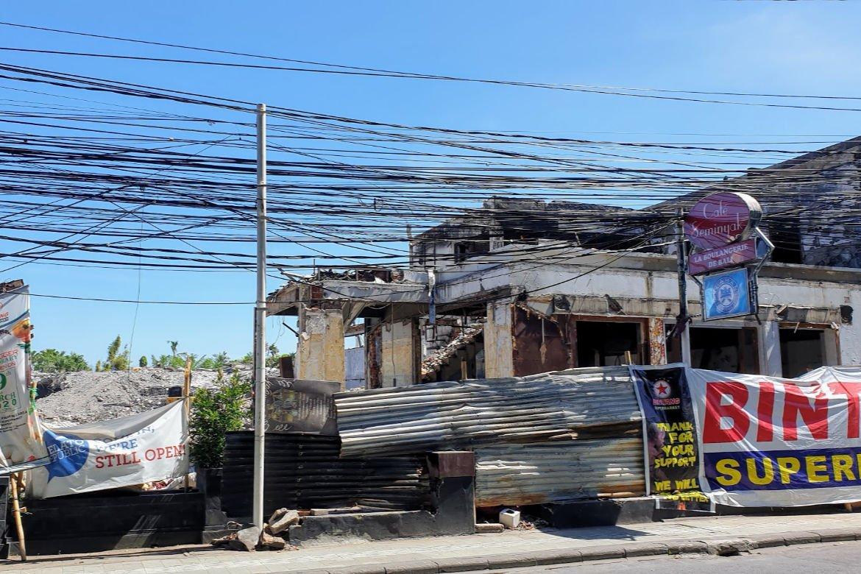 Construction for new Bintang Supermarket - Best Supermarkets in Seminyak
