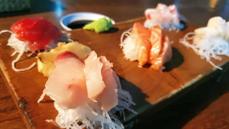 Sashimi at Sakanaya - Seminyak Restaurants, Cafes & Bars - Bali Holiday Secrets