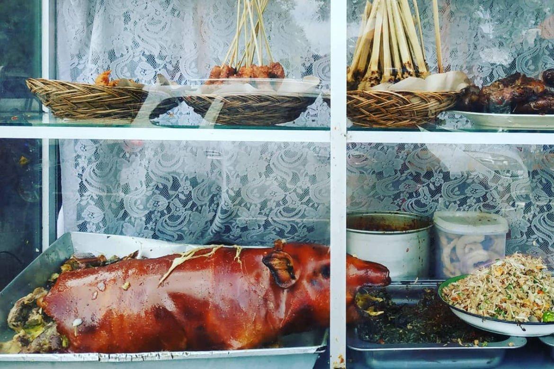 Babi Guling Display - Best Food in Bali