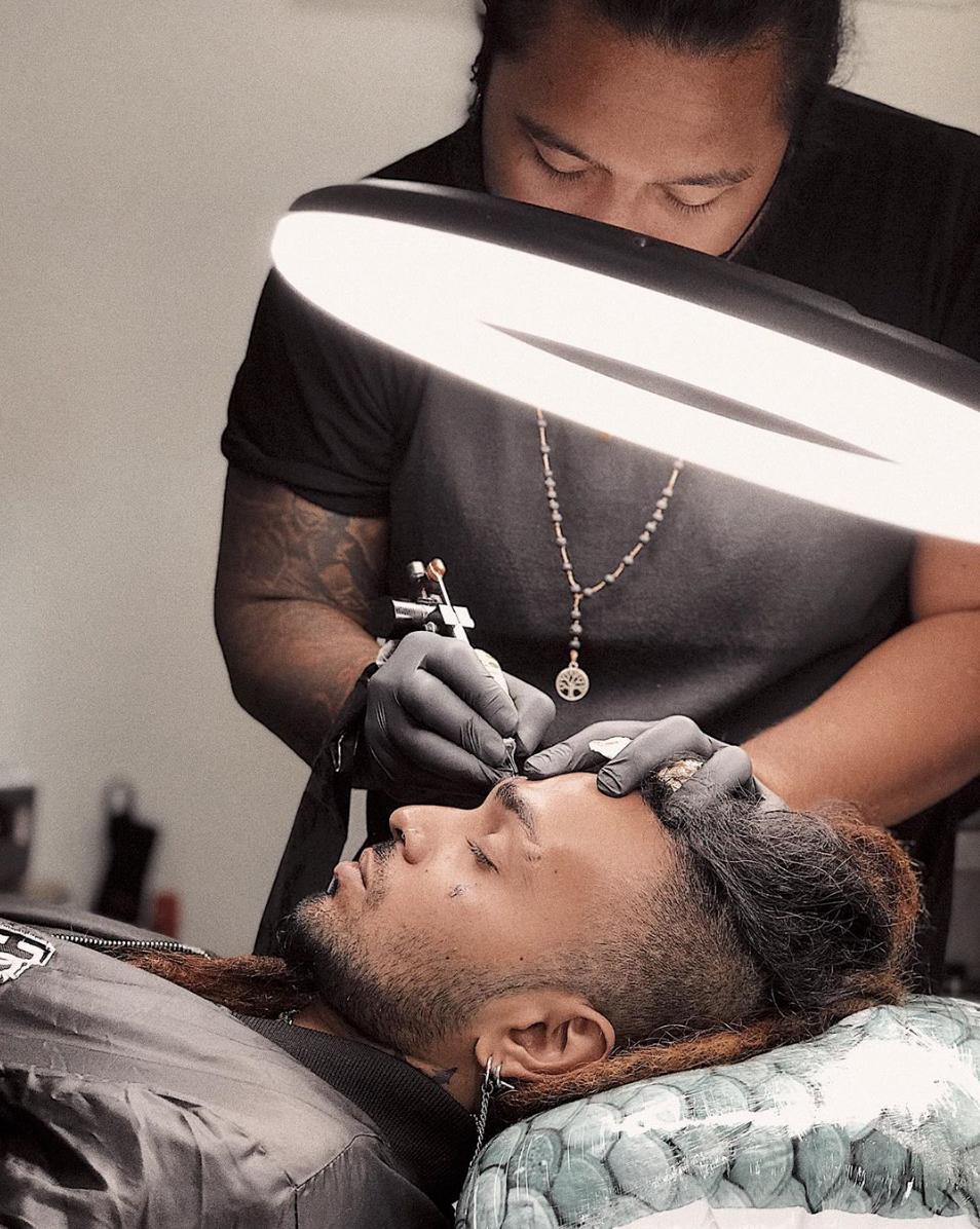 Getting a Tattoo in Bali