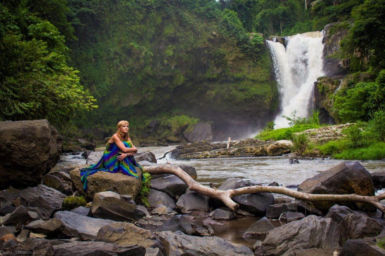 Book Photographer Bali - Waterfall Shoot